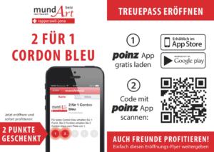 Treupass – 2 für 1 Cordon bleu